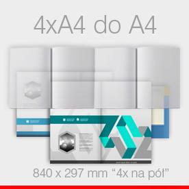 4 x A4 do A4 w Z