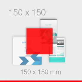 ulotki 150 x 150 mm