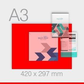 ulotki A3 - 297 x 420 mm