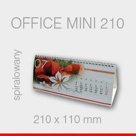 BIURKOWY SPIRALOWANY OFFICE MINI 210