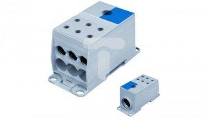 Blok rozdzielczy AL/CU 1-potencjałowy 175A we 1x95-240mm2 wy 6x10-50mm niebieski AUX38503N 82124003