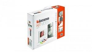 Zestaw videodomofonowy jednorodzinny Bticino AV KIT L3000+300X 13E Classe 300 WI-FI 363911