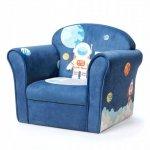 Fotelik dla dziecka z oparciem kosmonauta