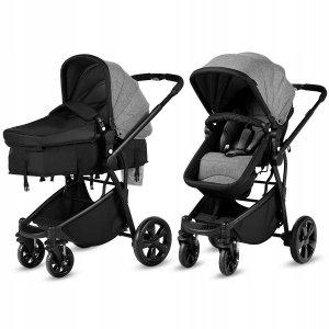 Wózek dziecięcy spacerówka  z gondolą 2w1