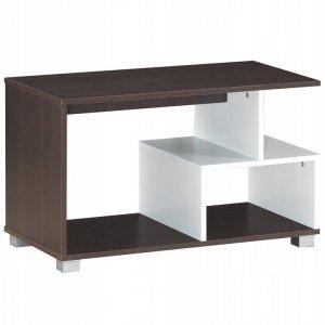 Stolik kawowy z półkami