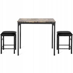 Stół i 2 stołki taborety zestaw do kuchni jadalni