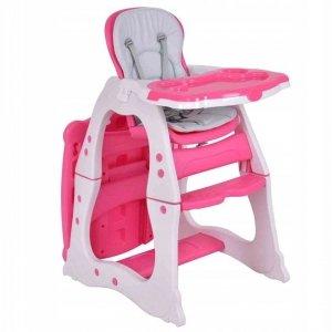 Krzesło fotelik do karmienia dzieci 2w1