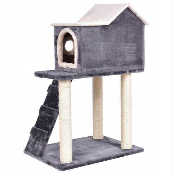 Drapak dla kota domek legowisko