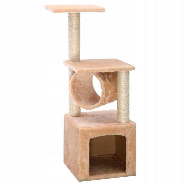 Drapak dla kota 3-poziomowa wieża