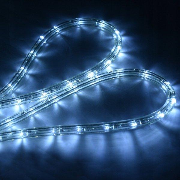 Wąż świetlny led 10m zimny biały