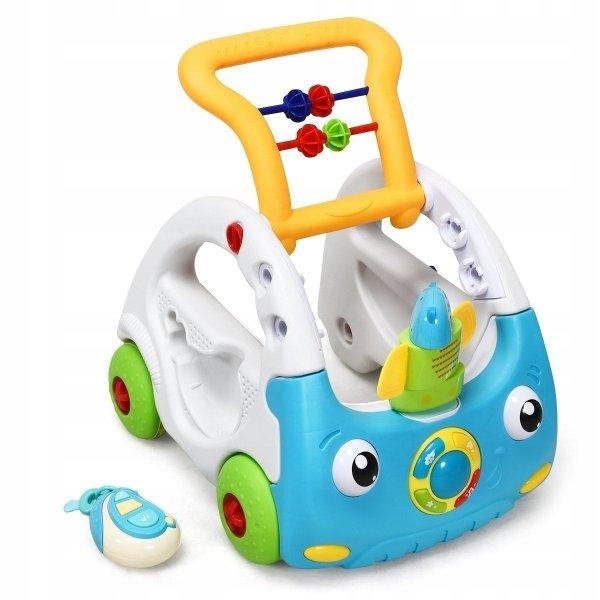 Jeździk dla dzieci z muzyką i światłami