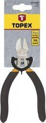 Szczypce precyzyjne boczne 115 mm
