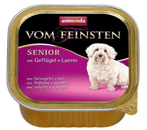 Animonda vom Feinsten Dog Senior Drób i Jagnięcina 150g