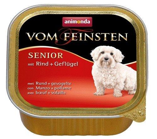 Animonda vom Feinsten Dog Senior Wołowina i Drób 150g