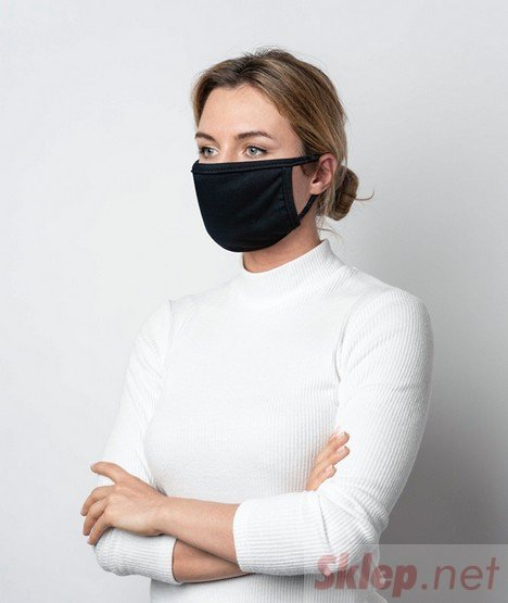 Chaba maska uniwersalna czarna 1szt.