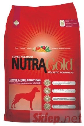 Nutra Gold Holistic Lamb & Rice Adult Dog 3kg