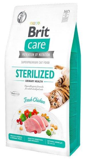 Brit Care Cat Grain Free Sterilized Urinary Health 7kg