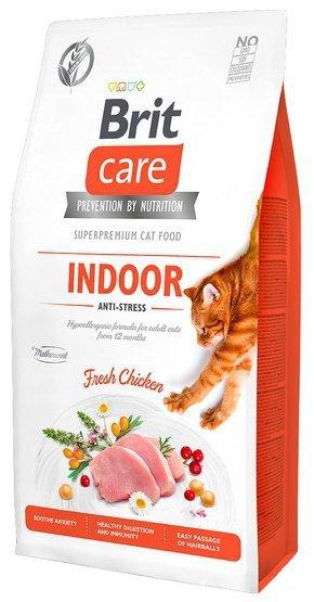 Brit Care Cat Grain Free Indoor Anti-Stress 7kg