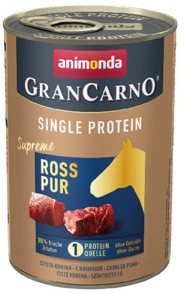 Animonda GranCarno Single Protein Konina puszka 400g