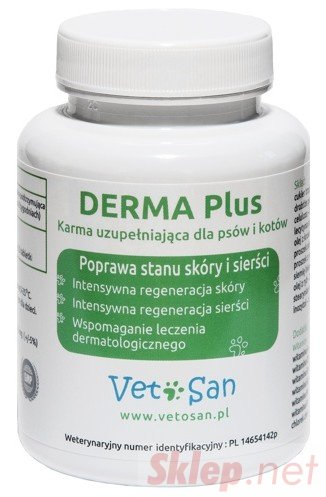 Vetosan Derma Plus 60 tabletek