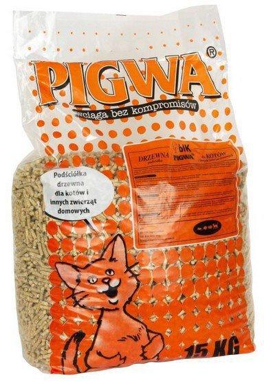 Pigwa drzewna - podściółka dla kotów i gryzoni - żwirek drewniany 15kg