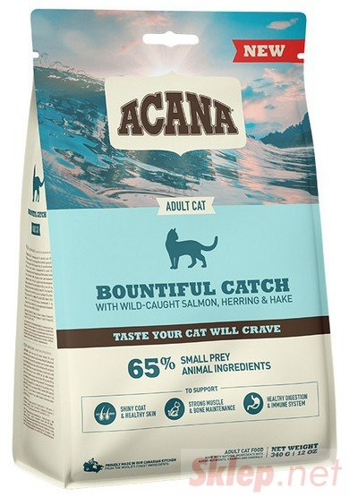 Acana Bountiful Catch Cat & Kitten 4,5kg