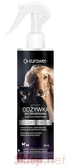 Eurowet Odżywka bez spłukiwania dla psów i kotów 200ml