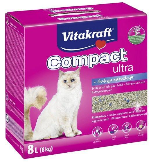 Żwirek Vitakraft Compact Ultra Plus 8kg [16079]