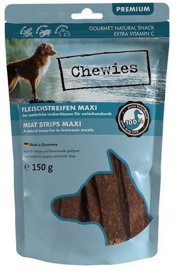 Chewies Maxi Meat Strips Kaczka 150g