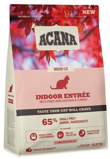 Acana Indoor Entree Cat & Kitten 1,8kg
