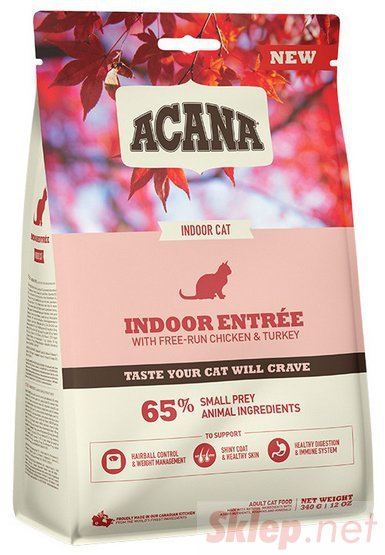 Acana Indoor Entree Cat & Kitten 340g