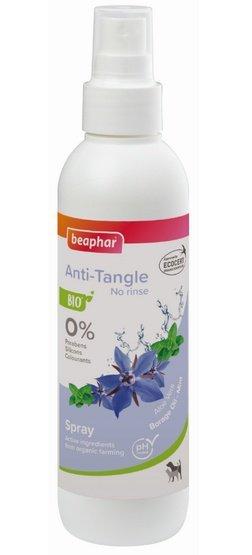 Beaphar BIO Anti-Tangle Spray - organiczny spray zapobiegający splątaniu sierści dla psów i kotów 200ml