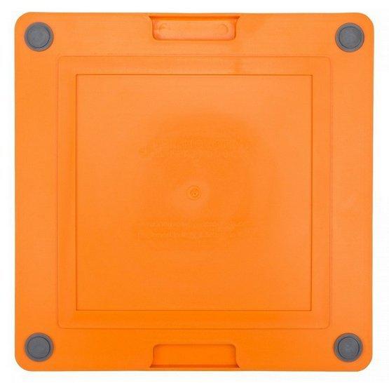 LickiMat Soother Deluxe/Tuff Jeżyk twardy pomarańczowy