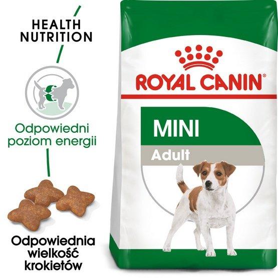 Royal Canin Mini Adult karma sucha dla psów dorosłych, ras małych 2kg