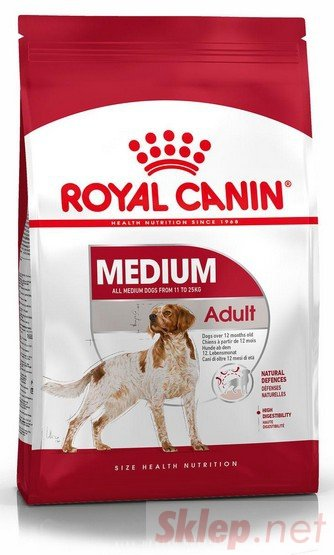Royal Canin Medium Adult karma sucha dla psów dorosłych, ras średnich 15kg
