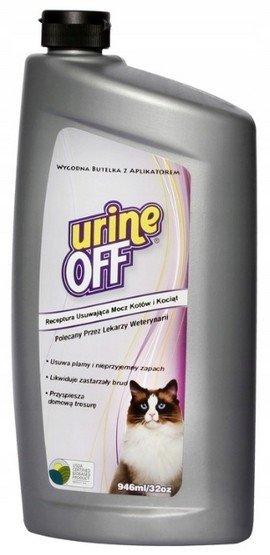 Urine Off Cat & Kitten Formula - do usuwania plam moczu 946ml