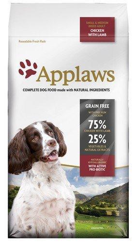 Applaws Adult Dog Small & Medium Breed Kurczak z jagnięciną 2kg