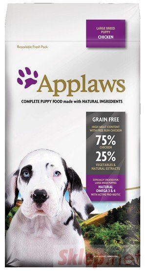 Applaws Puppy Large Breed Kurczak 2kg