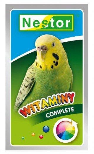 Nestor Witaminy dla małych papug - ogólne Complete