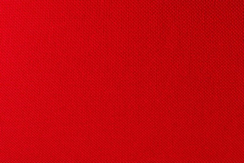 Fotel TULIP biały z czerwoną poduszką - ABS, podstawa metalowa