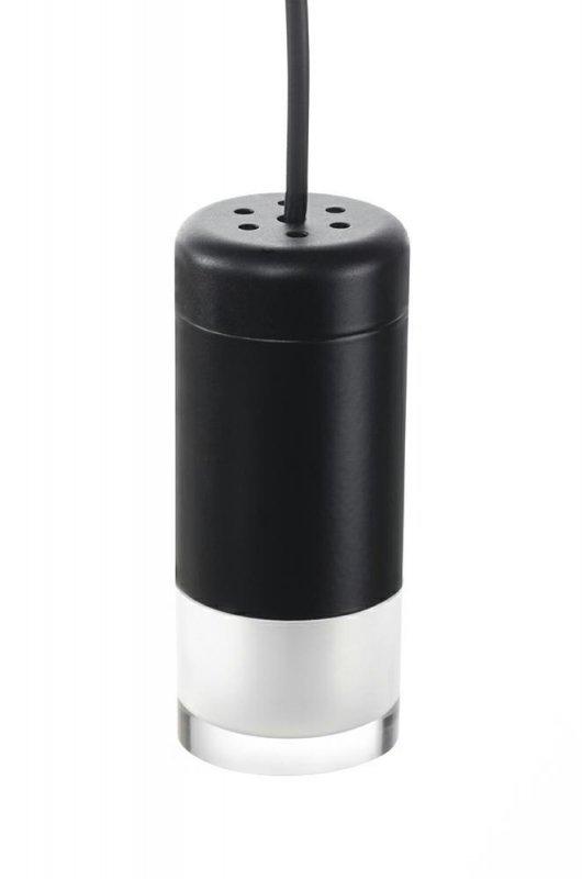 Lampa wisząca FLUSSO 8 czarna