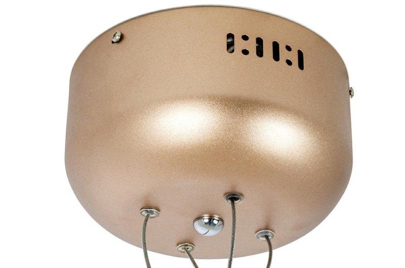 Lampa wisząca FLORA 125 miedziana - LED, metal