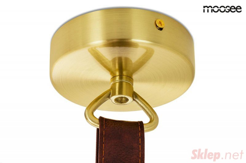 MOOSEE lampa wisząca LUPE LEVEL - złota