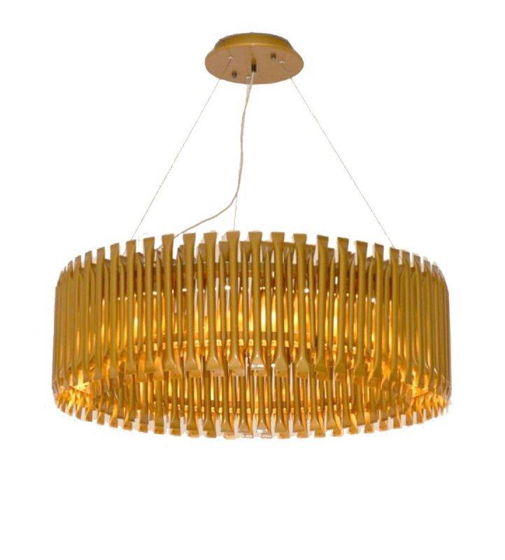 Lampa wisząca GALLIANO ciemne złoto - aluminium, stal węglowa