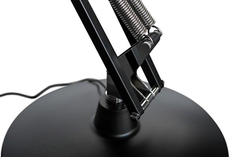 Lampa podłogowa GIGANT czarna - metal