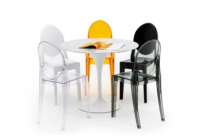 Krzesło VICTORIA transparentne - poliwęglan