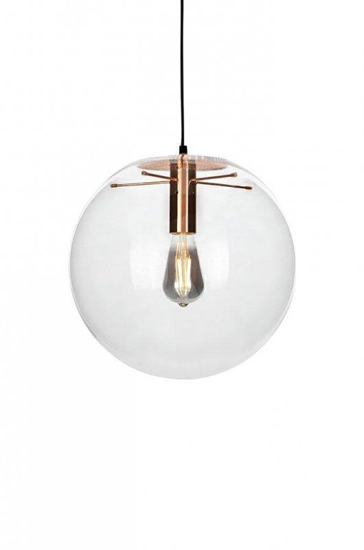 Lampa wisząca SANDRA 20 miedziana - szkło, metal