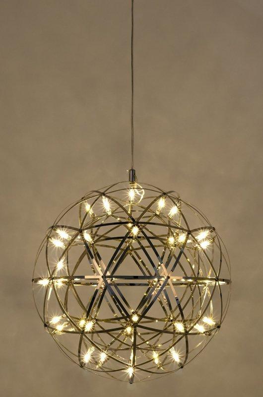Lampa wisząca STELLAR 45 chrom - LED, stal nierdzewna