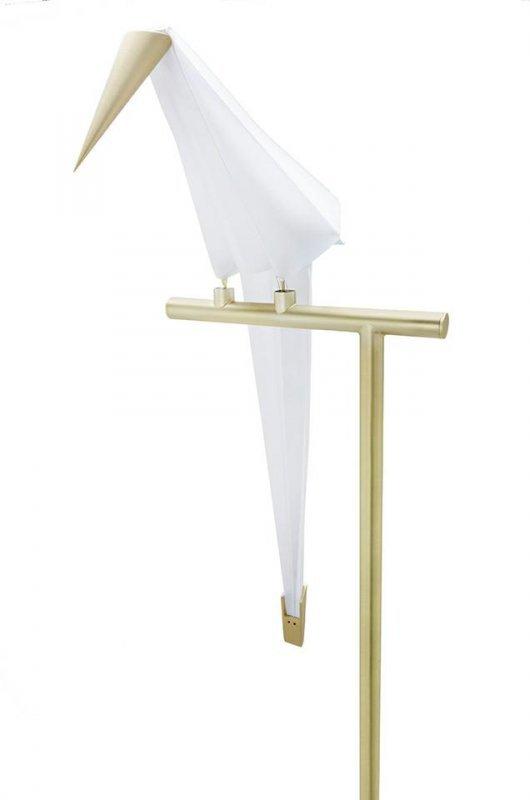 Lampa podłogowa LORO FLOOR złota - LED