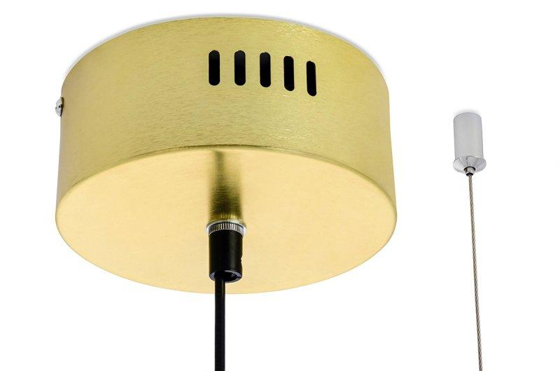 Lampa wisząca VERTIGO złota - LED, aluminium